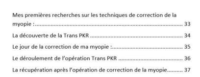 Table des matières p2