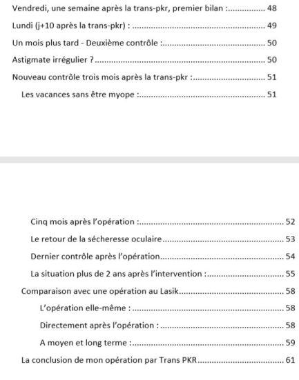 Table des matières p3