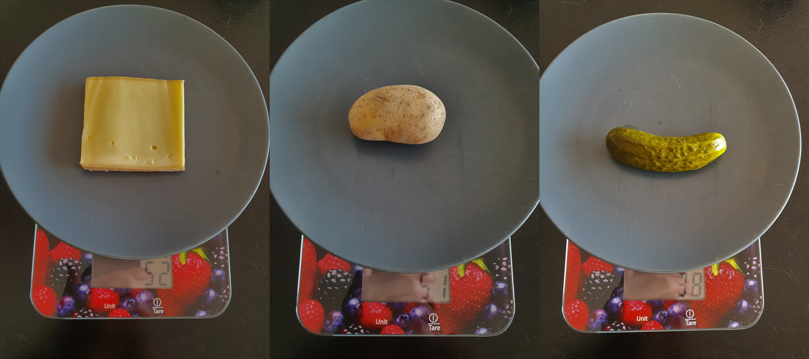 Poids raclette