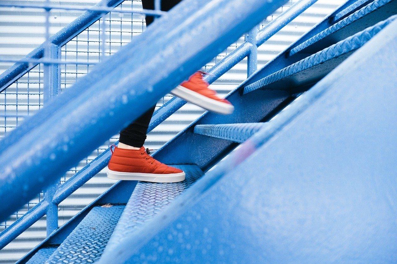 Maigrir_travail_escalier